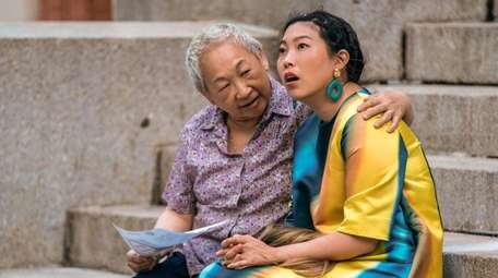 Creator and writer Awkwafina, right, stars in Comedy