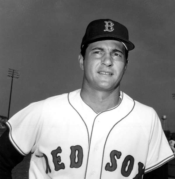 The Boston Red Sox's Carl Yastrzemski was the
