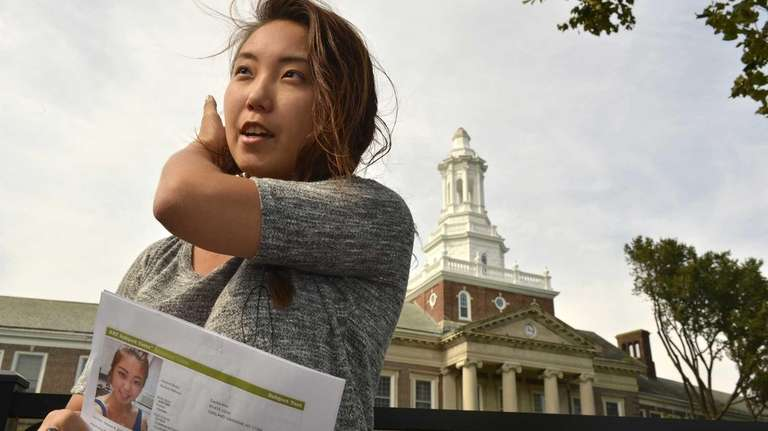 Cecilia Kim, 17, is a senior from Townsend