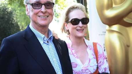 Mike Nichols and Meryl Streep attend the tribute