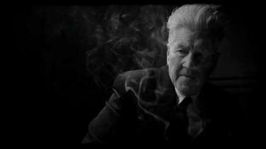 David Lynch appears in a scene from his