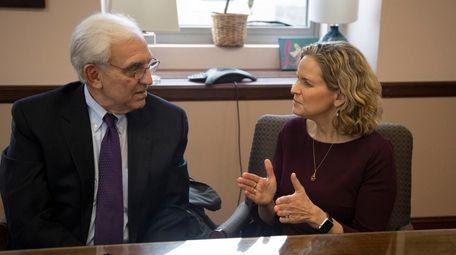 Robert Detor, the new NuHealth chairman, with Nassau