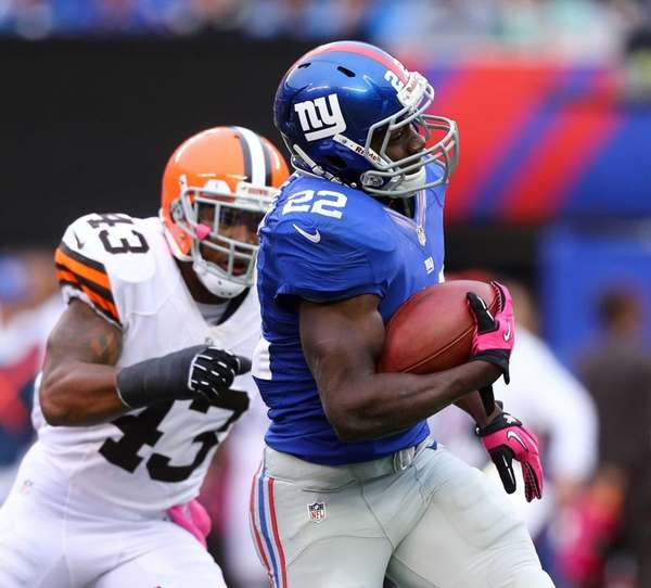 David Wilson #22 of the New York Giants