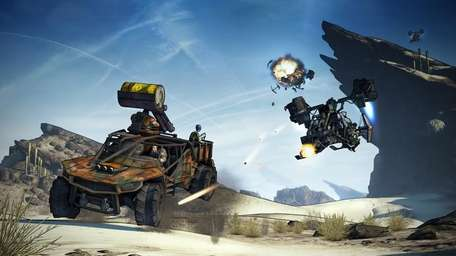 'Borderlands 2' is available on Microsoft Windows, PlayStation