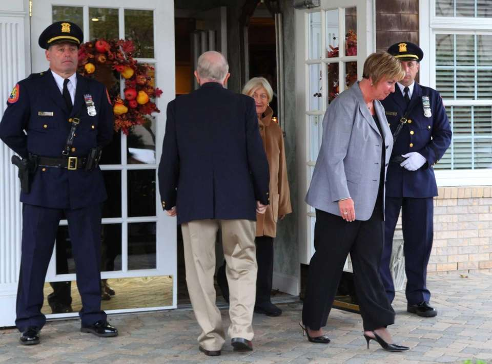 Town of Hempstead Supervisor Kate Murray attends the