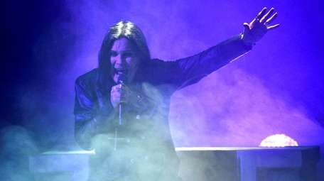 Ozzy Osbourne performs at the American Music Awards