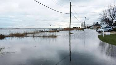 Residents on Riviera Drive in Mastic Beach say