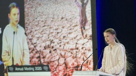 Teen climate activist Greta Thunberg was a foil
