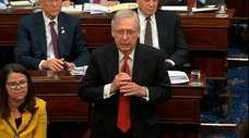 Senate Majority Leader Mitch McConnell on Tuesday.