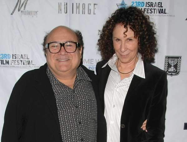 Actors Danny DeVito and Rhea Perlman attend the