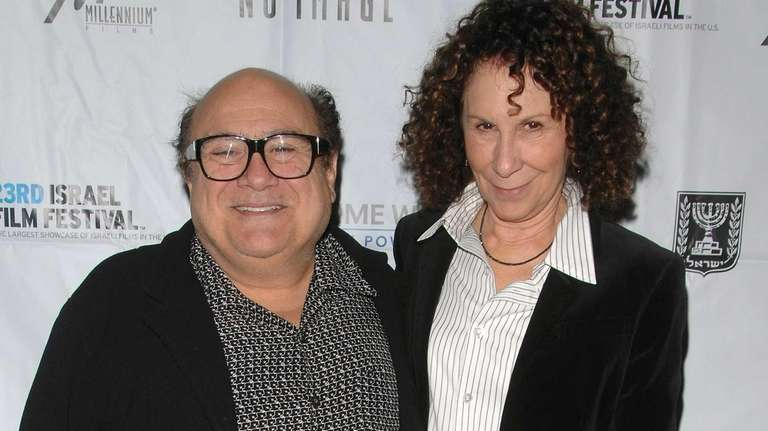 Actors Danny DeVito and Rhea Perlman attend the