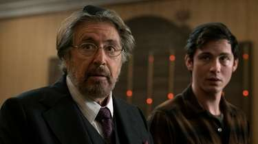 Al Pacino as Meyer Offerman and Logan Lerman