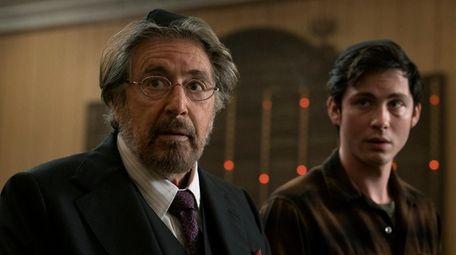 Al Pacino as Meyer Offerman and Logan Lerman