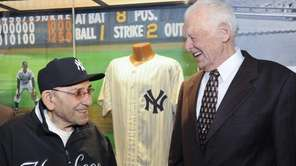 Yogi Berra, a Hall of Fame catcher who