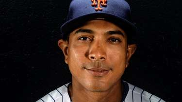 Mets quality-control coach Luis Rojas during spring training