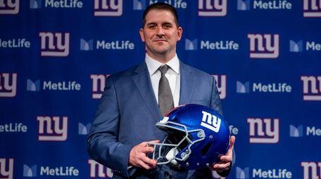 The Giants introduce new coach Joe Judge at