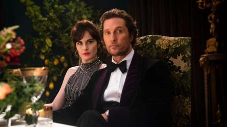 Michelle Dockery as Rosalind Pearson and Matthew McConaughey