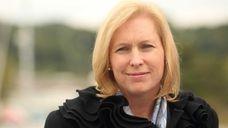 Sen. Kirsten Gillibrand in Glen Cove. (Oct. 8,