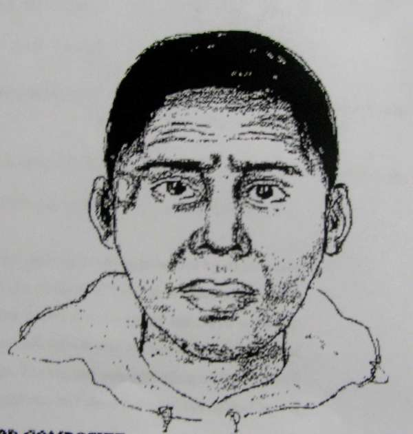 Handout from NCPD of suspect, who approached an