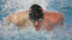 Connetquot's Nolan Russell wins the 100 Yard Fly