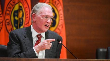 Deputy Presiding Officer Howard J. Kopel during a