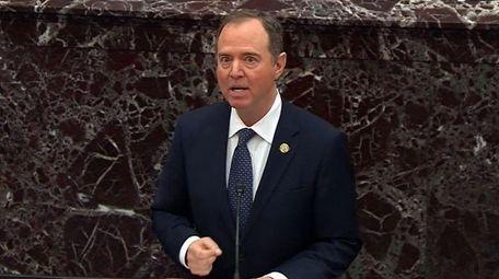 House intelligence chairman Adam Schiff, a House impeachment