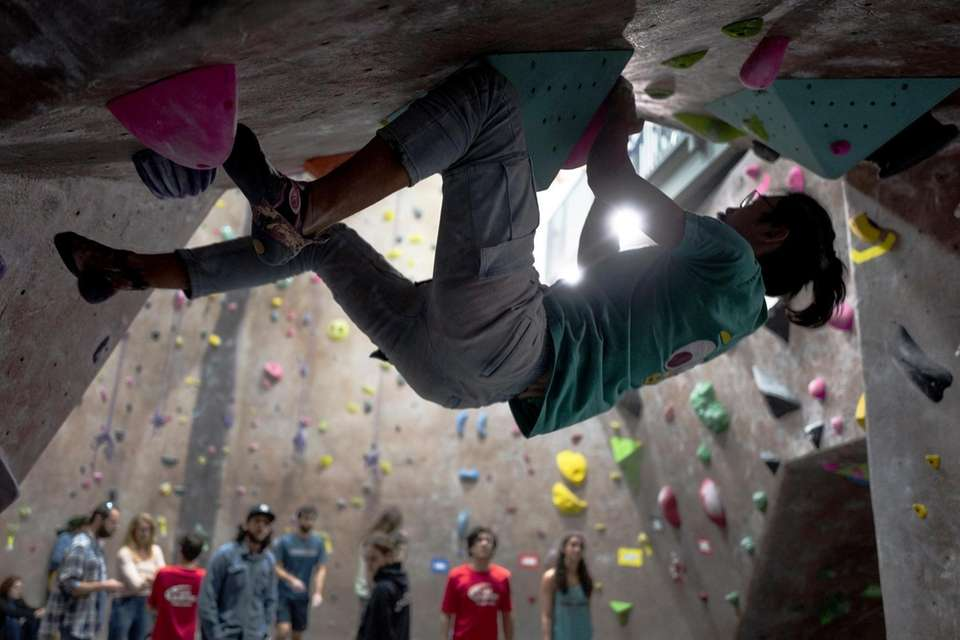 Athletes competed in the 3rd annual Rock-It Power