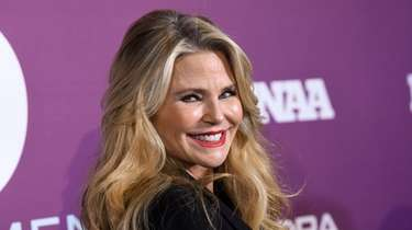 Christie Brinkley attends the 2019 Footwear News