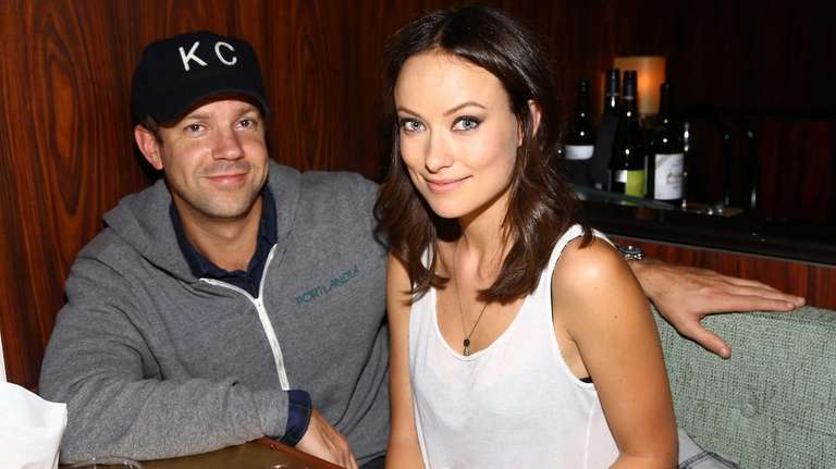 Actors Jason Sudeikis and Olivia Wilde attend the
