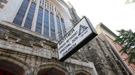 Mother African Methodist Episcopal Zion Church in Harlem,