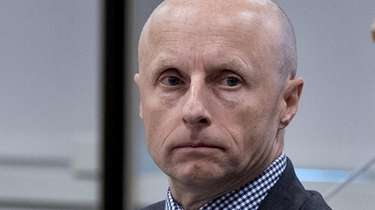 New York City Transit president Andy Byford is