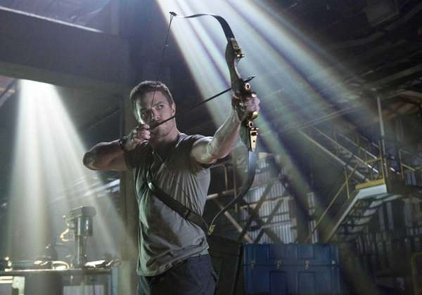 Stephen Amell as Oliver Queen in