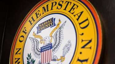The Town of Hempstead Town Seal as seen