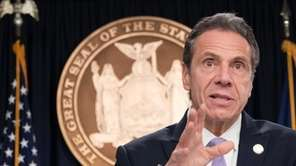 New York Gov. Andrew M. Cuomo on Thursday