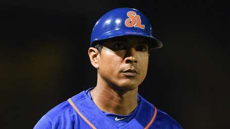 St. Lucie Mets manager Luis Rojas during a