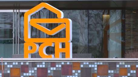 The Publishers Clearing House headquarters is seen last