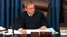 Supreme Court Chief Justice John Roberts on Tuesday