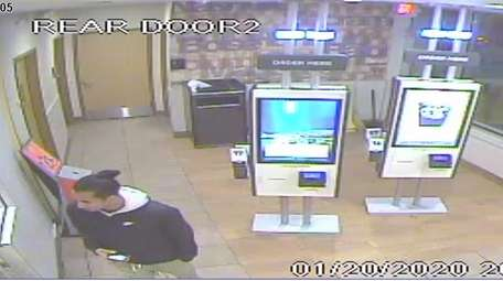An image released by Nassau police of a