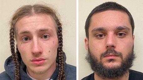 Douglas Coudrey, 22, of Eastport, and Kenneth Regan,