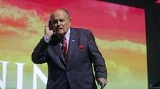 Rudy Giuliani, President Donald Trump's personal lawyer, on