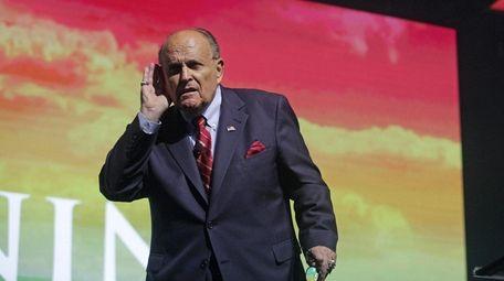 Rudy Giuliani, President Donald Trump's personal lawyer, on