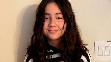 Ariana Glaser, an eighth-grader at Great Hollow Middle