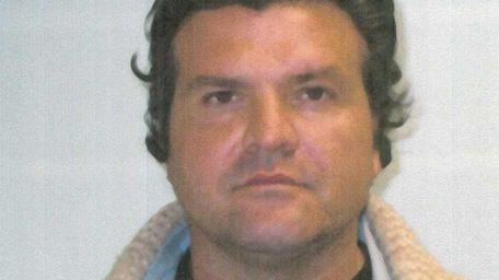 Undated mugshot of Joseph Romano, who was convicted