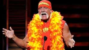 Hulk Hogan talks at the Comedy Central Roast