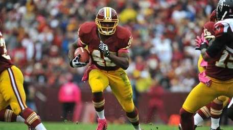 Alfred Morris #46 of the Washington Redskins. (Getty