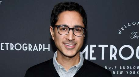 Maulik Pancholy attends the Metrograph 3rd Anniversary Party