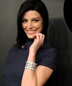 """Mad Men"" actress Jessica Pare attends the celebration"
