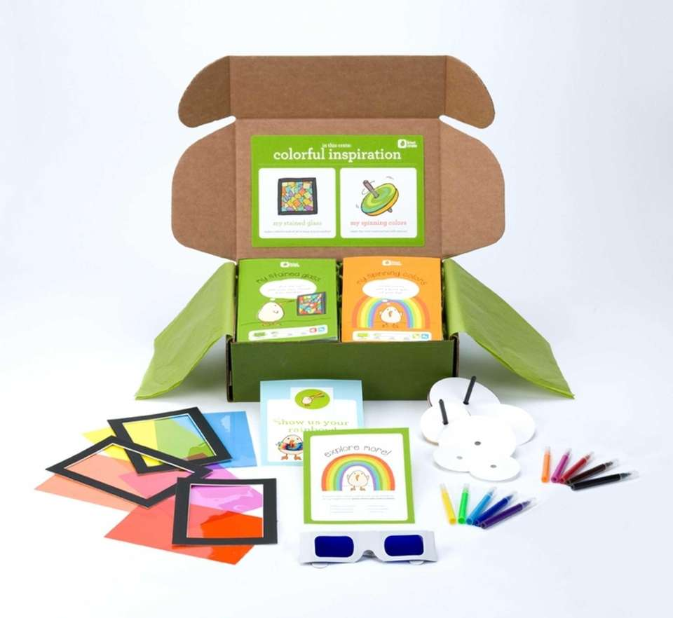 Kiwi Crate ($19.95; www.kiwicrate.com) BEST FOR Ages 3