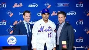 The New York Mets introduced their new manager,