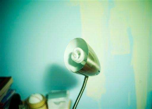 Modern light bulbs can offer up to 75